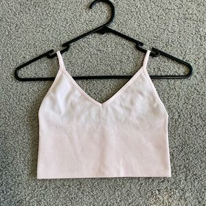 light pink bralette from glassons